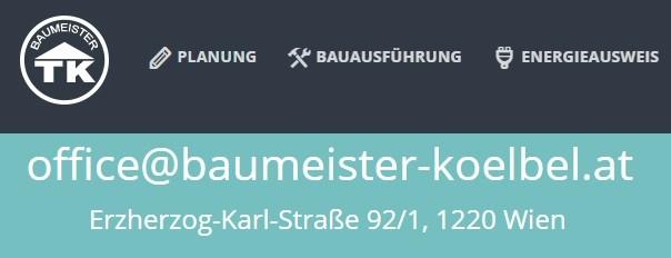 Baumeister Kölbel